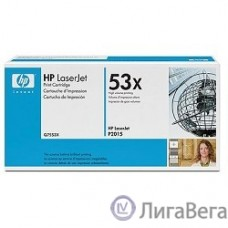 HP Q7553X Картридж ,Black{LaserJet P2015, Black, (7000 стр.)}