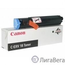 Canon C-EXV18/GPR22 0386B002/0386B003 Тонер для  iR1018/1022, Черный, 8400 стр. (CX)